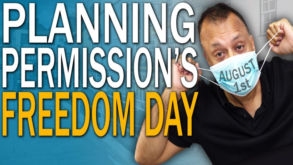 Freedom Day For Property Investors on August 1st