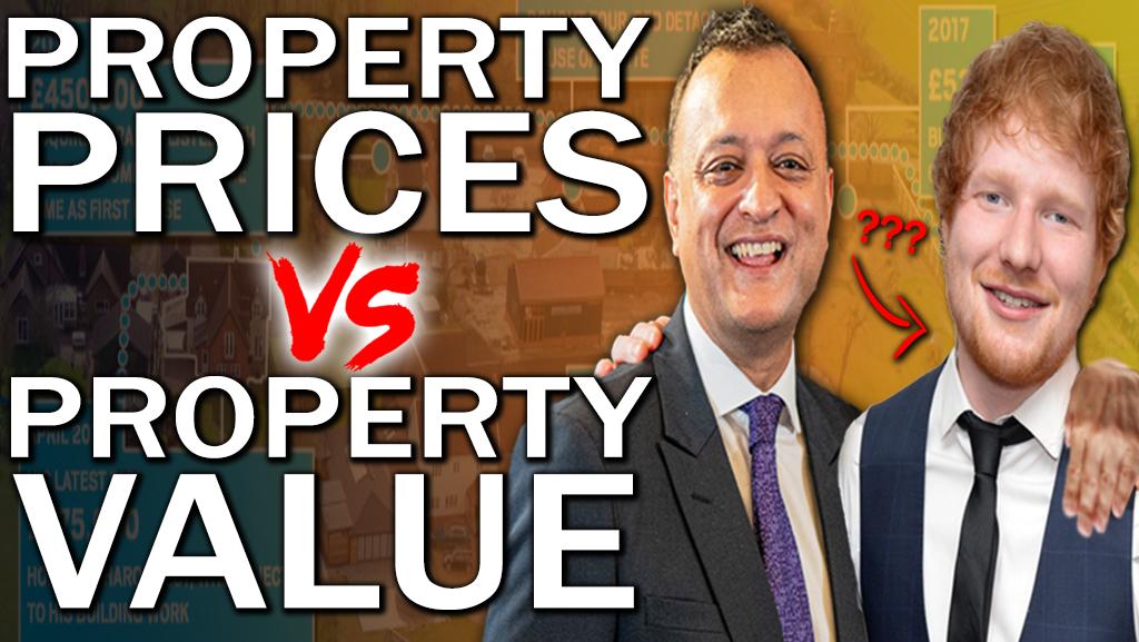 Property Price vs Property Value