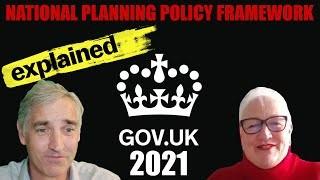 National Planning Policy Framework NPPF 2021 – Key Changes