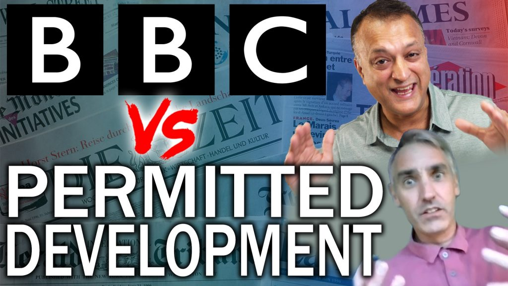 BBC Takes A Swipe At New Permitted Development Rules and More Bank Branches Will Be Closing