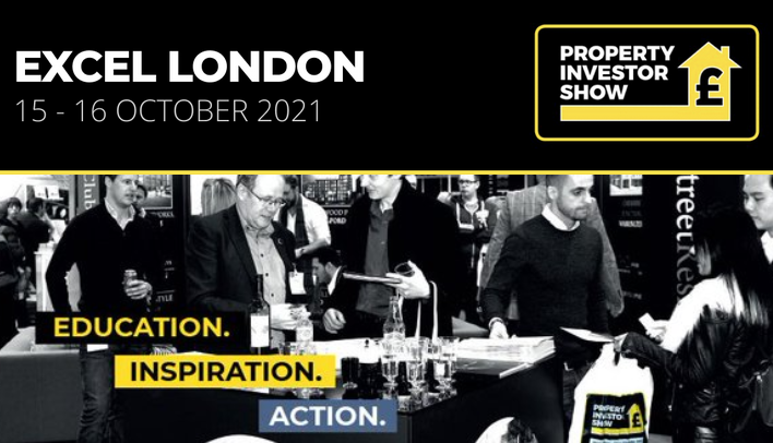 Complimentary entry – The Property Investor Show 15 & 16 October at ExCeL London