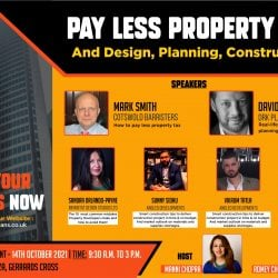Pay Less Property Tax presentation by Mark Smith (Barrister-At-Law) – Titans event 14th October